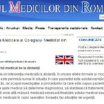 Actul medical la distanta