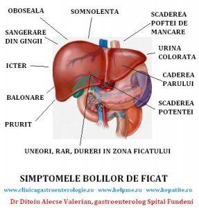 Simptomele bolilor ficatului – oboseala din bolile de ficat