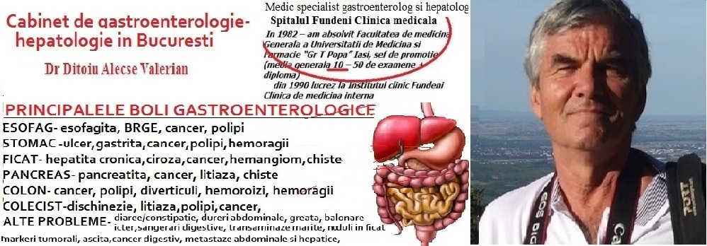Cabinet privat de gastroenterologie in Bucuresti