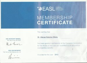 Diplome membru EASL