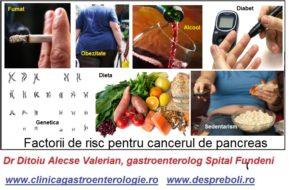 Canc er pancreas risc